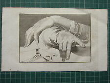 1797 LAVATER PHYSIOGNAMY 7 PLATES Vol 4 HAND STUDIES MAN WOMAN TWO HANDS