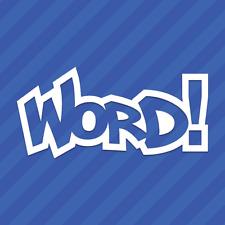 Word! Vinyl Decal Sticker JDM