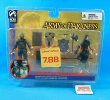 "Knight & Deadite Skeleton Figure 2-Pack Palisades Toys 4"" Army Of Darkness"