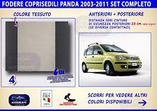 Coprisedili Panda Cross 2003>2011 fiat set fodere auto copri sedili sedile beige