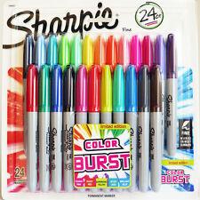 Sharpie Color Burst Permanent Marker Fine 24 Pack Assorted