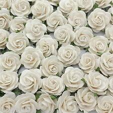 50 Mulberry Paper Flowers Wedding Centerpiece Scrapbook Card Home Decor R6-15