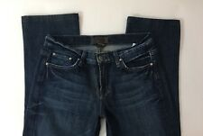 Lucky Brand 6/28 Jeans Classic Rider Ol Cottage Dark Wash Embroidery Women's 6