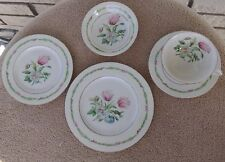 "4 - Theodore Haviland New York ""Garden Flower"" 5 Piece Place Setting"