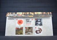 The Great War Royal Mail Stamps Presentation Pack (No 561) GB. Free postage.