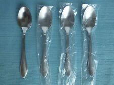 New Oneida Stainless Flatware JACKSON Satin Set of 4 Teaspoons