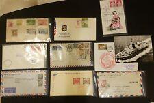 Japan FDC Envelopes, Postcards, etc (9x)