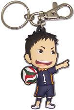 NEW GE Haikyu!! - SD Daichi Sawamura PVC 6cm Keychain Official License GE85114