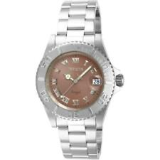 Invicta Angel 14362 Women's Round Analog Stainless Steel Brown Dial Watch