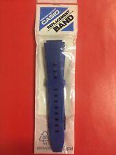 cinturino casio resina blu A-164W