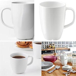 Ikea VARDERA Porcelain Tea Coffee Mug Kitchen Cafe Cup 11cm Height 30 cl White