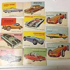 Topps World on Wheels lot of 11  CAR  CARDS