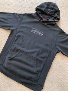 Supreme kaws Box Logo Hoodie XL In Faded Black
