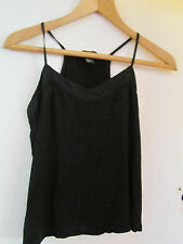 Black H&M Vest Top in Size XS / Size 6 - 8