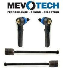 For Ford Mustang 94-04 Front Inner & Outer Tie Rod Ends Mevotech