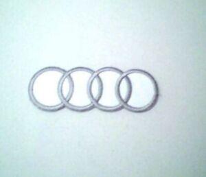 Audi Embroidered Badge / Logo Iron On - Sew On Badge UK Seller 🇬🇧