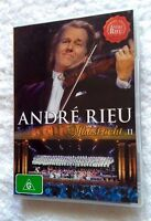 ANDRE RIEU: LIVE IN MAASTRICHT-2 (DVD) R-ALL, LIKE NEW, FREE POST IN AUSTRALIA