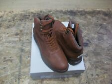 New Men's Sio Brown Mid Air Bubble Crock Print Shoes Size 10.5 Brand New!