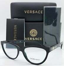 NEW Versace RX Frame Classic Glasses VE3264B GB1 51mm Black AUTHENTIC women 3264