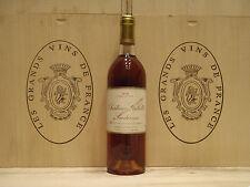 Château Gilette 1975 Crème de tête Sauternes noté: 93/100