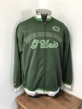 Mens XL VINTAGE G UNIT 50 Cent Heavy Weight Construction Zip Up Track Jacket