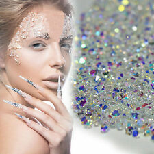 1 Box DIY Crystal Bling Rhinestones Zircon Drill Gems 3D Nail Art Decoration