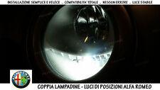 "COPPIA LAMPADINE LED BIANCO GHIACCIO POSIZIONI ""ALFA ROMEO 147"" (2005-2010)"
