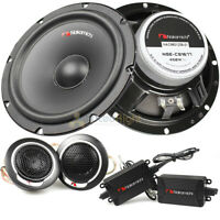 """Nakamichi 6.5"""" 2 Way Component Speakers 450 Watts Max with Crossovers NSE Series"""