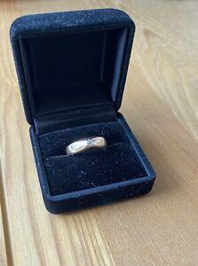 Gold 585 Ring (kein 750) Mit 0,15 Diamant Brillant