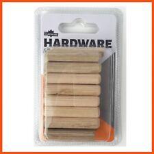 192 X Wooden Dowels 8x40mm   Wood Fastener Woodwork Craft Joiner Building Round
