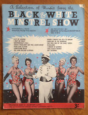 Vintage Sheet Music - A Selection Of Music From The Black & White Minstrel Show