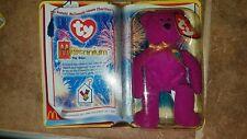 "Ty  ""Ronald McDonald House Charities"" Beanie Babies ""Millennium"" Bear 1999 NIB"