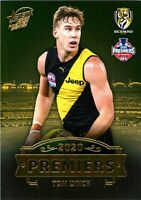 ✺New✺ 2020 RICHMOND TIGERS AFL Premiers Card TOM LYNCH - 15 of 25