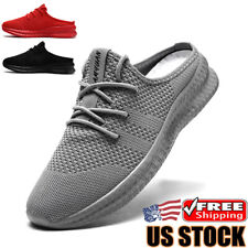 Mens Mesh Sandals Clog Shoes Breathable Slippers Walking Beach Sports Sandals