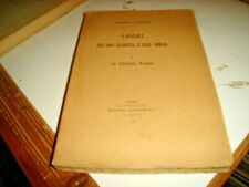 SAGGI SULL'ARTE ELLENISTICA - LA CORRENTE ASIANA di G. CULTRERA - LOESCHER 1907