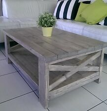 HANDMADE Coffee Table, Side Table, Made from Solid Wood