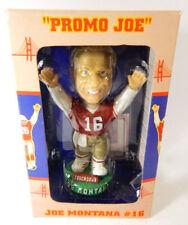Bobble Dreams Joe Montana 49ers #16 Jersey Football Bobblehead #'d/3,000 NIB