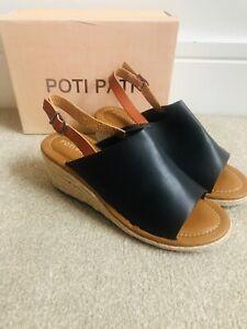 Poti Pati Summer Wedges Size 8