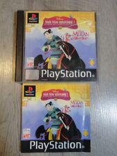 DISNEY MULAN FAIS TON HISTOIRE PLAYSTATION 1 PS1 PSONE PS2 PS3