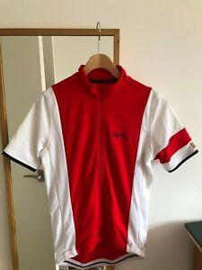 Rapha Trade Team Jersey, Belgian Faema team red, medium, full zip, Sportwool