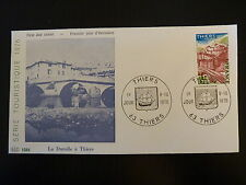 FRANCE PREMIER JOUR FDC YVERT 1904   THIERS   1,70F   THIERS   1976