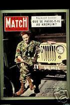 PARIS MATCH Roy Monaco Redon Eden Henri France Garland
