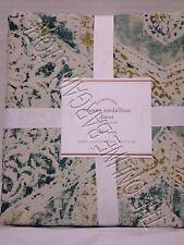 Pottery Barn PB Rowena Medallion Bedroom Damask Duvet Cover Full Queen f/q Multi