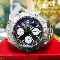 Breitling SUPEROCEAN A13340 Day/Date Blac Dial Chronograph Automatic Men's Watch
