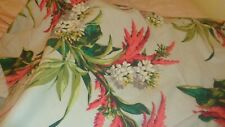 """40"""" x 46"""" vintage bark cloth fabric-washed but in exc cond."""