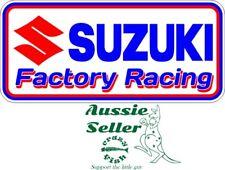 Suzuki Racing   sticker 185 x 85 mm  BUY 2 & Get 3