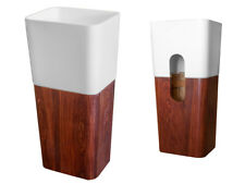 CIPI Woody Free Standing Lavandino da terrain Istone e legno con vasca capiente
