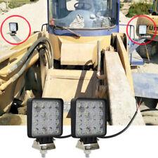 2X 48W LED work lights offroad car truck tractor ATV UTV Trailer Boat Lamps asd