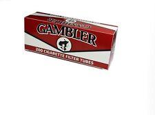 Gambler Regular King Size RYO Cigarette Tubes - 10 Box-2000 Tubes