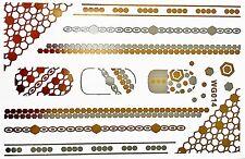 Decorazioni in argento in plastica per unghie